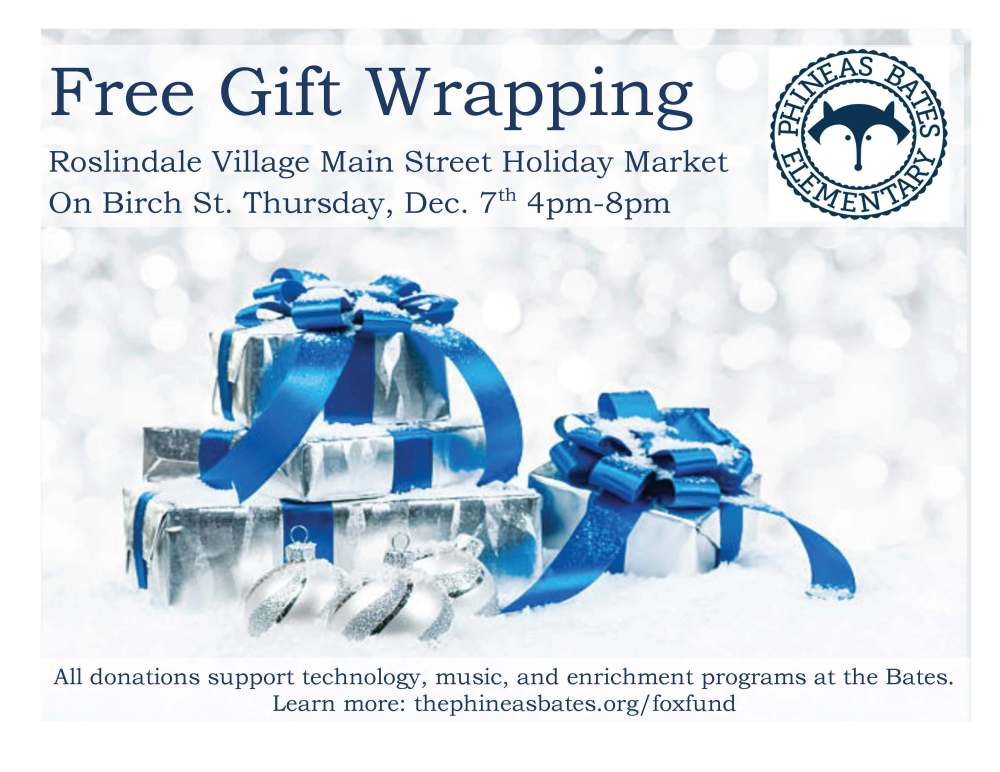 wrapping flyer